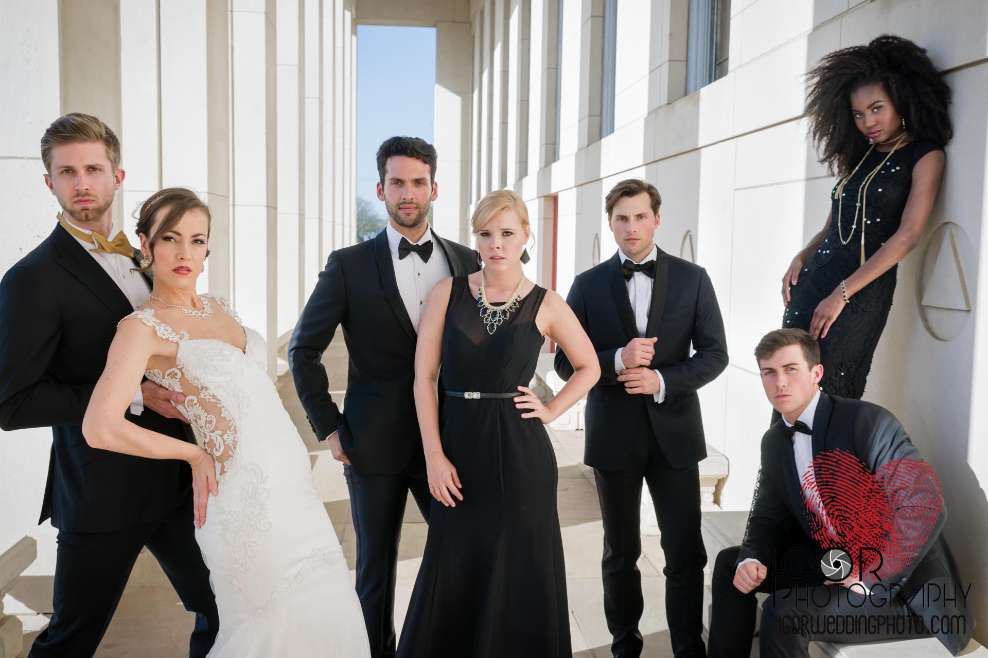 fair park fashion wedding