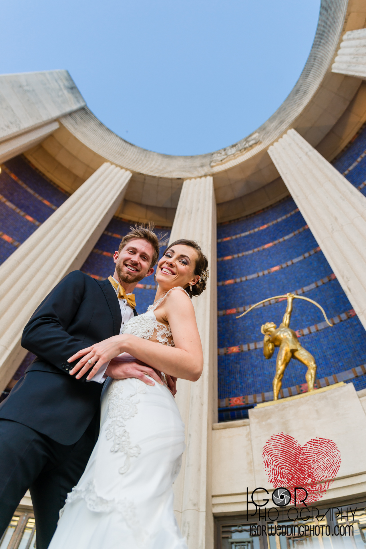 Fair Park wedding photography