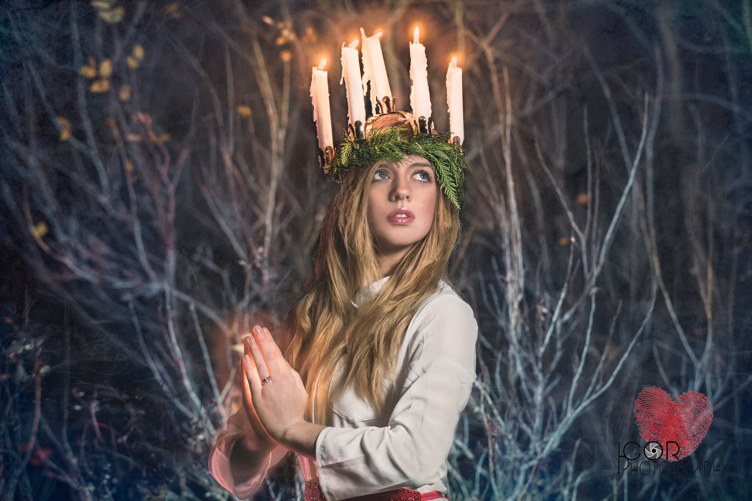 Santa Lucia will bring us light and hope in the darkest day of the year.