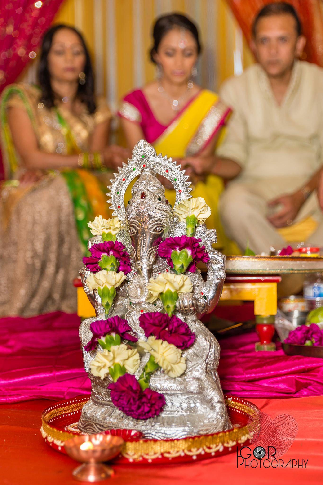 Indian pre-wedding ceremony