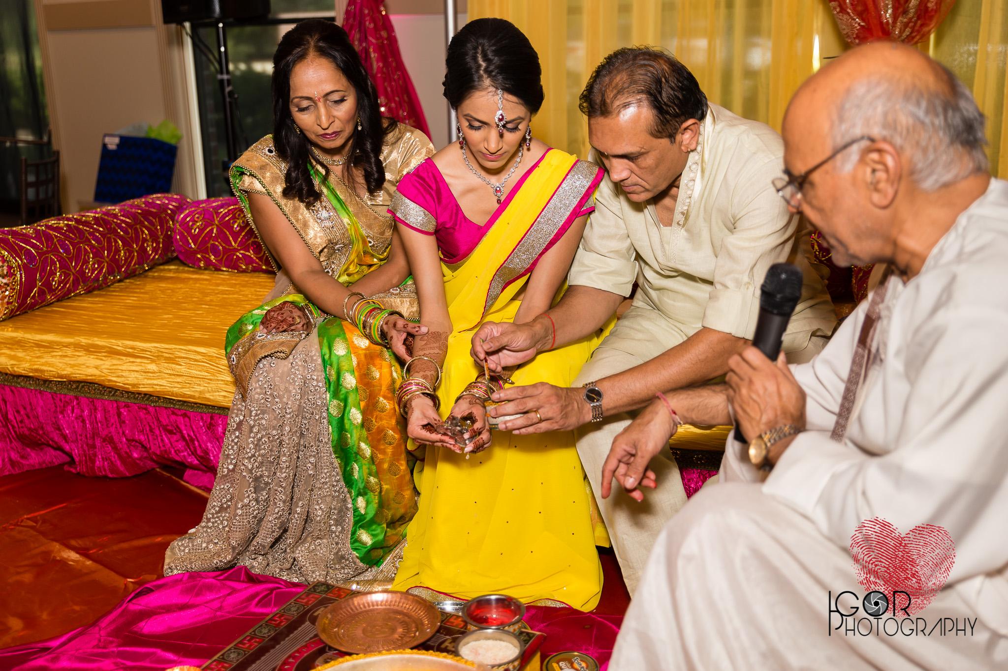Dallas Indian Pre-Wedding Ceremony