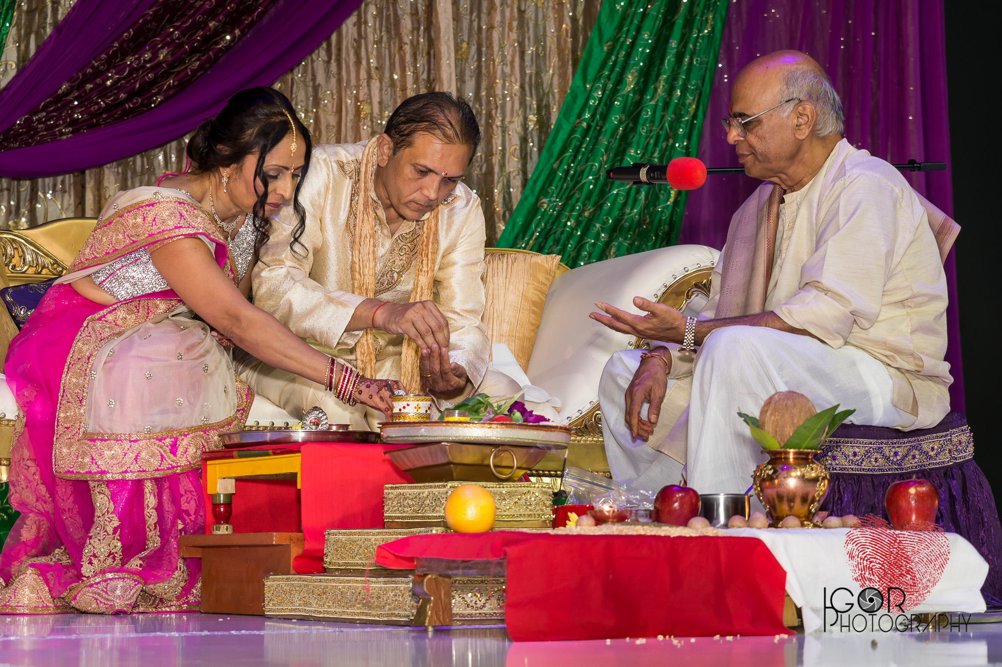 Dallas Indian wedding ritual