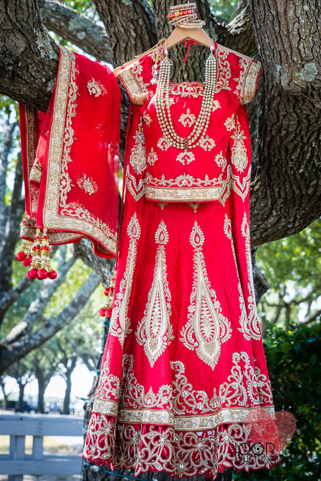 Dallas Indian wedding dress