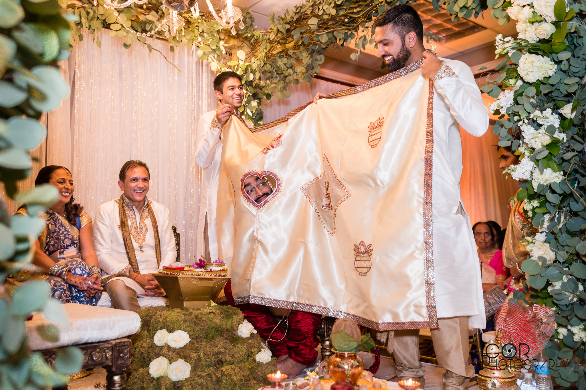 Dallas indian wedding ceremony
