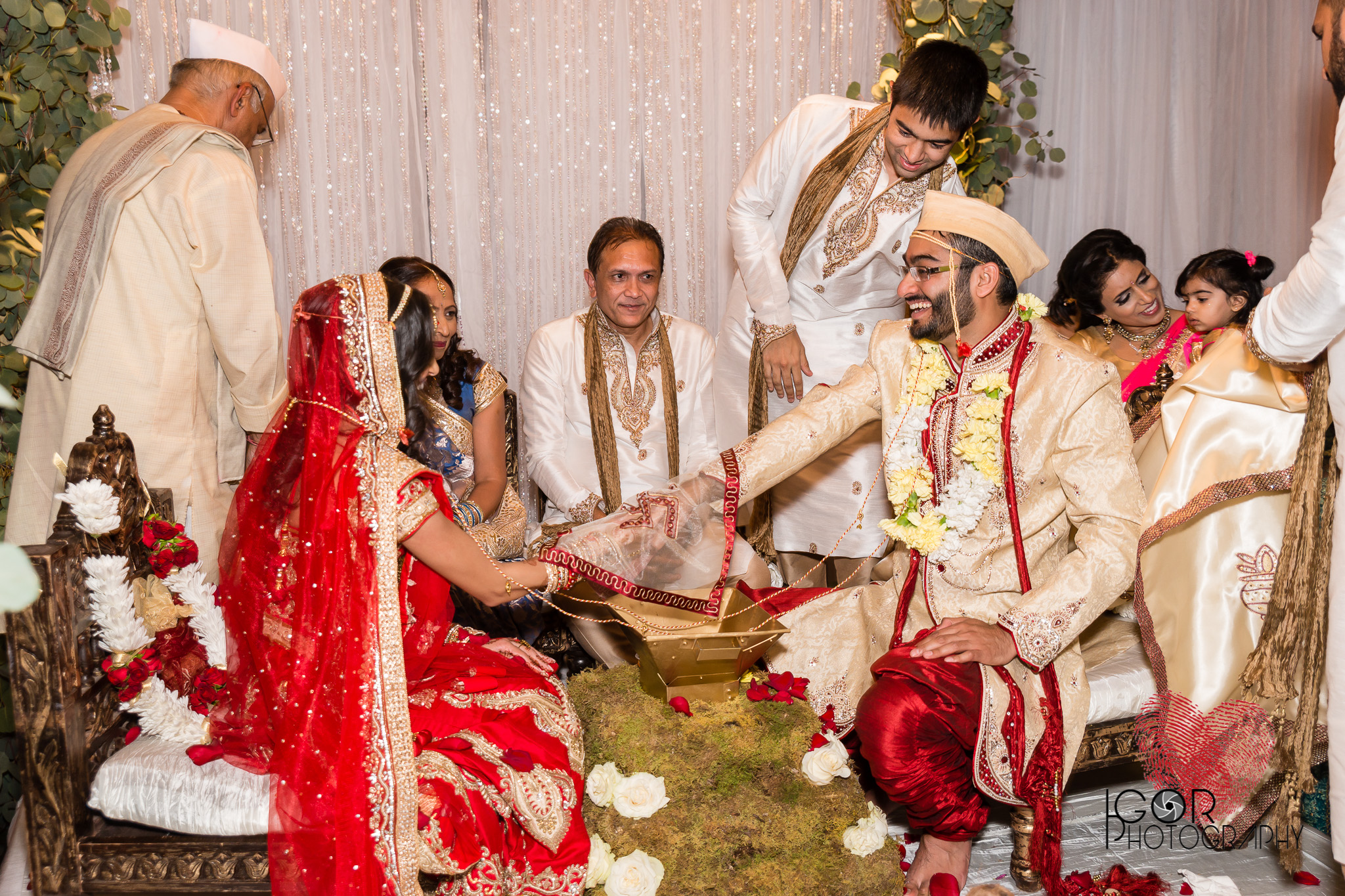 Hindu wedding in Dallas