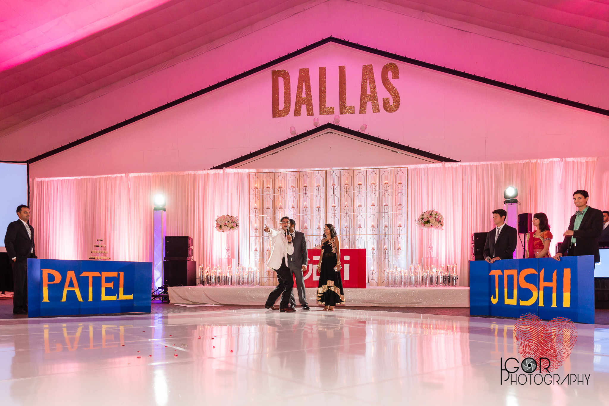 Southfork Ranch Wedding Reception