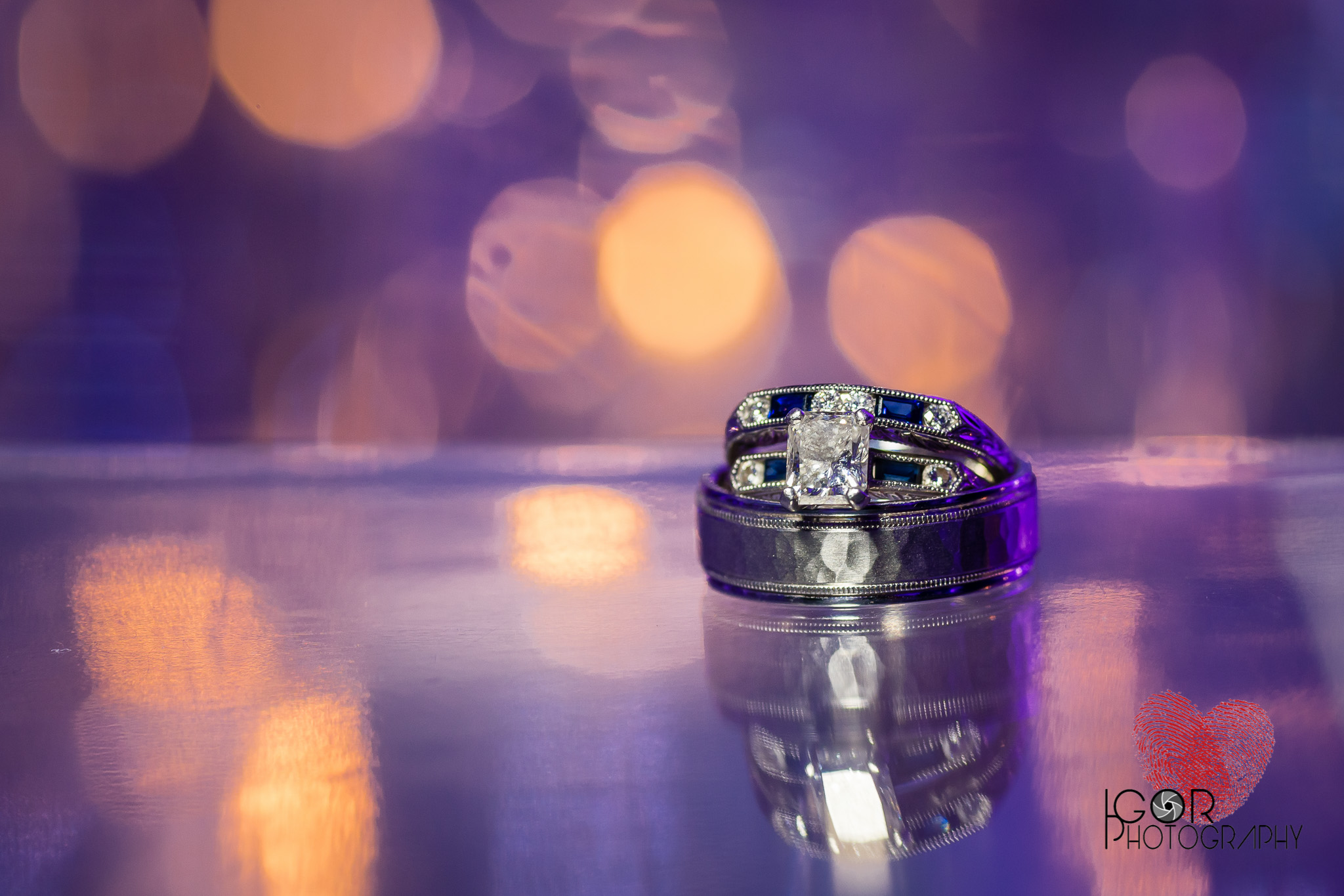 Indian wedding ring shot