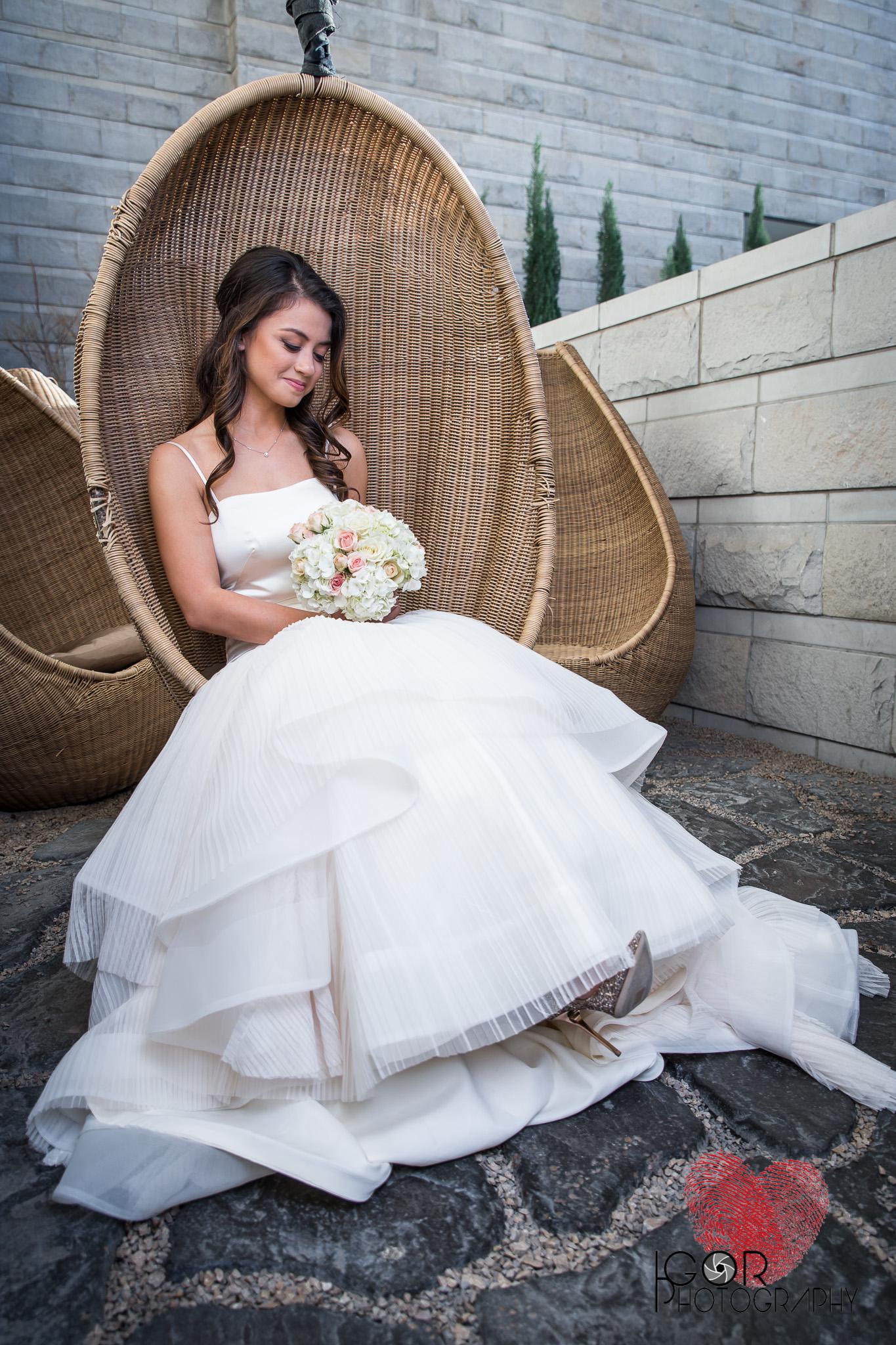 W Hotel Bridal Session