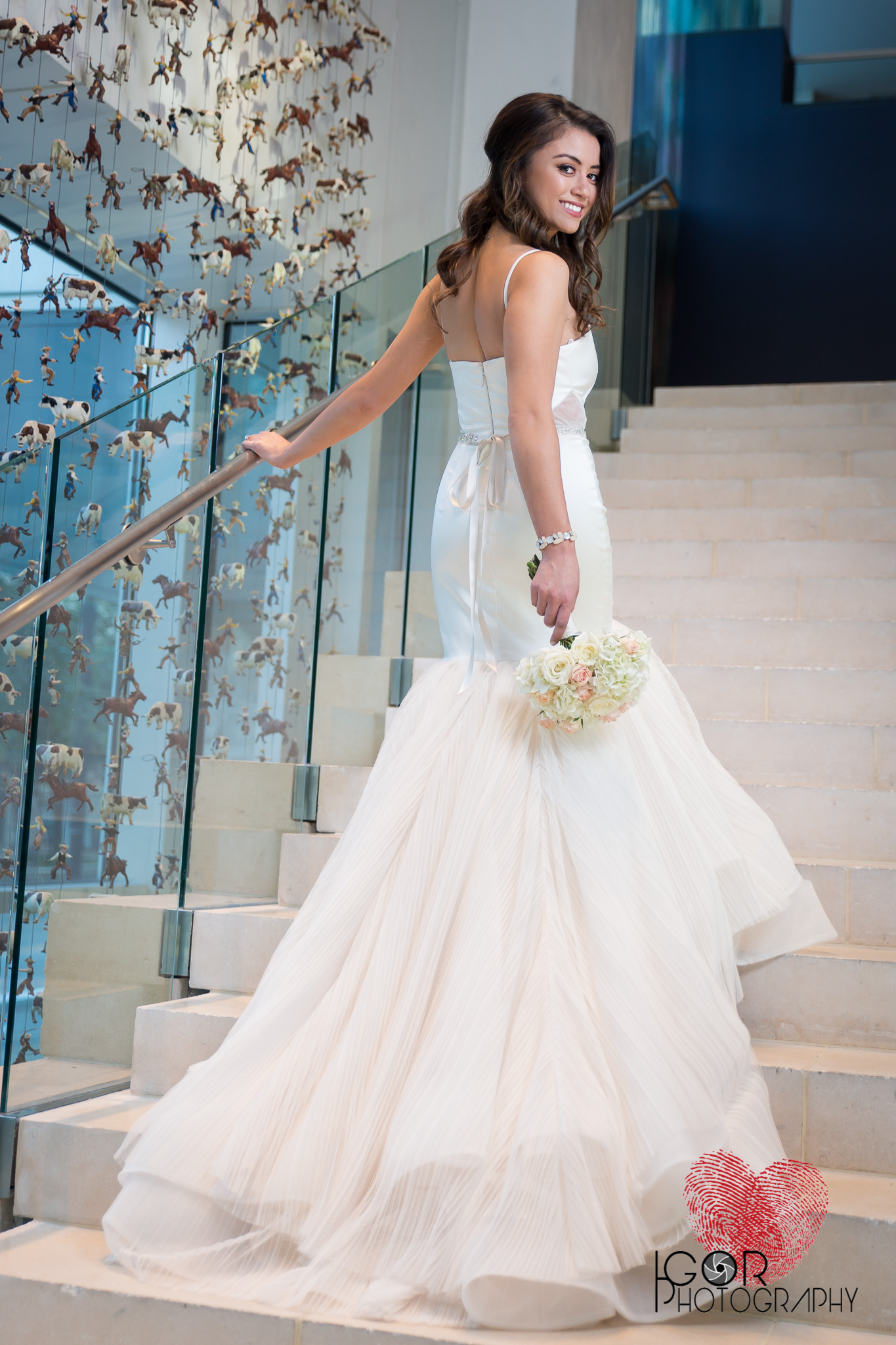 Dallas hotel bridal photographer