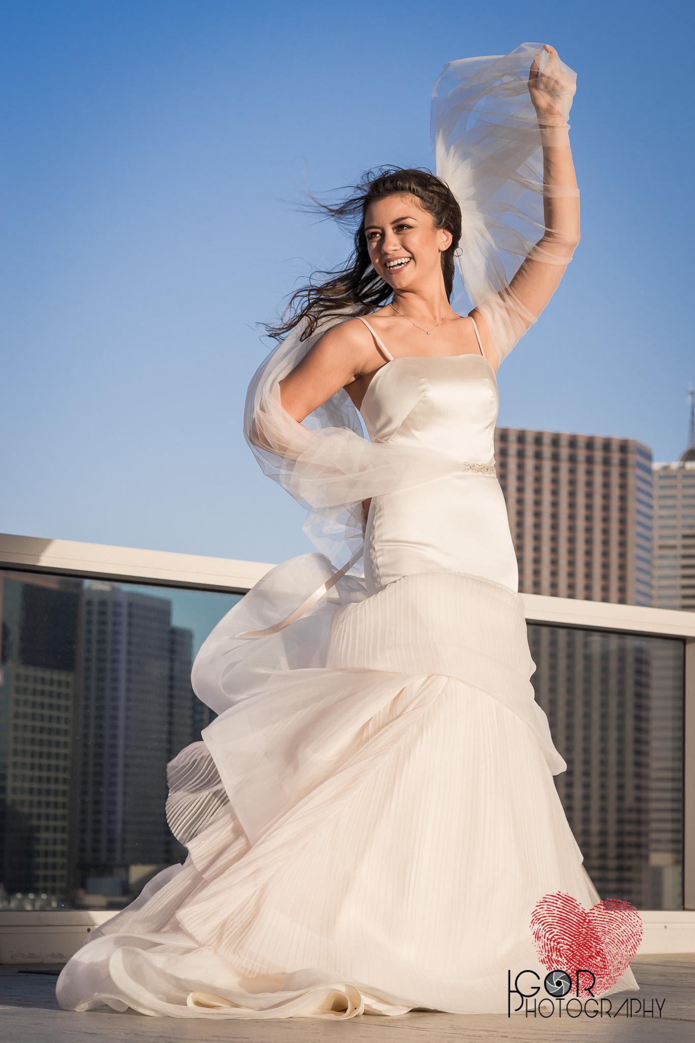 Fine art bridal pictures
