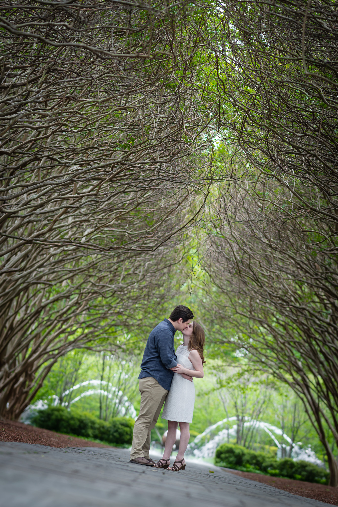 Engagement Photography at the Dallas Arboretum