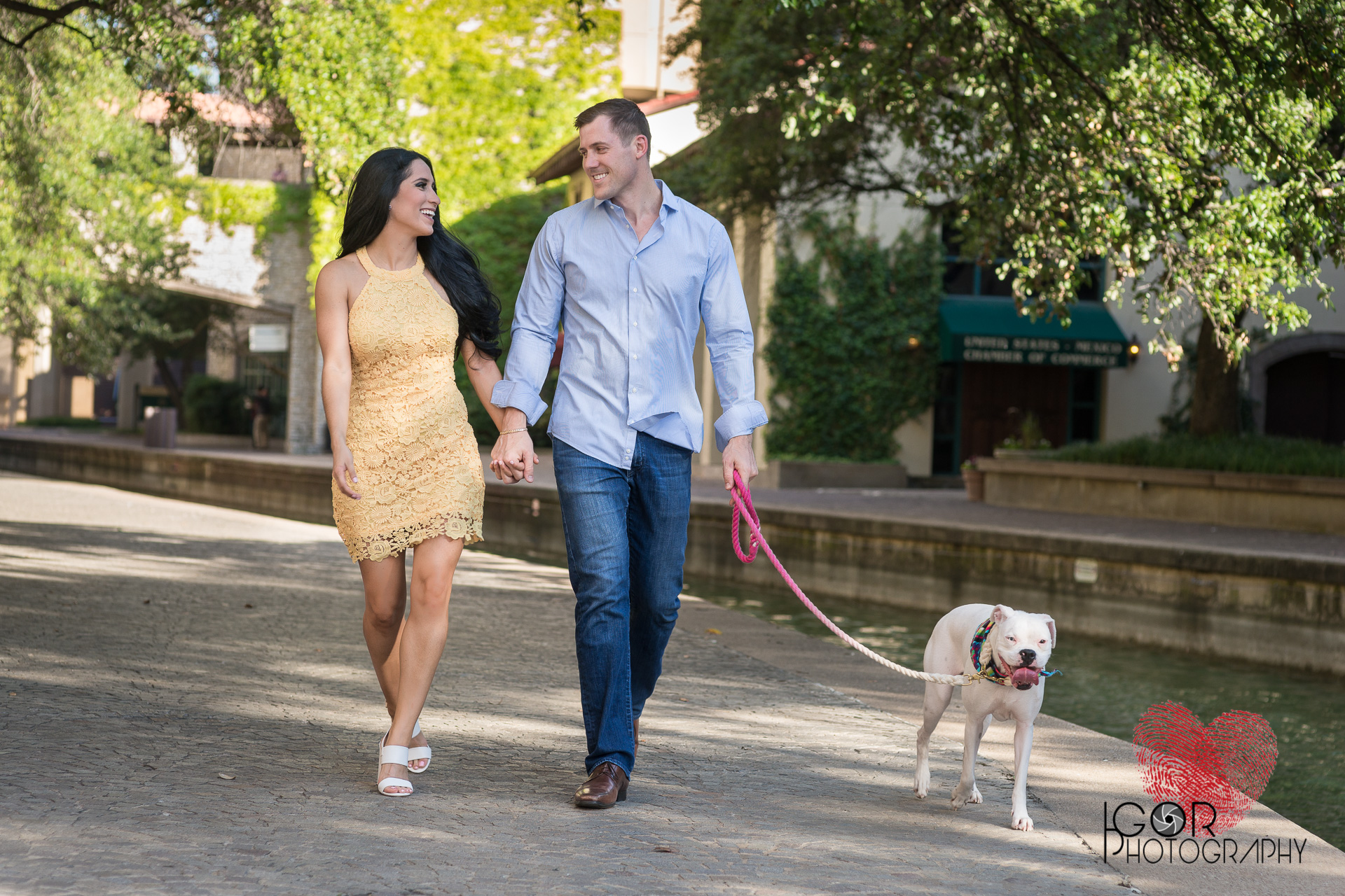 Las Colinas Engagement Session