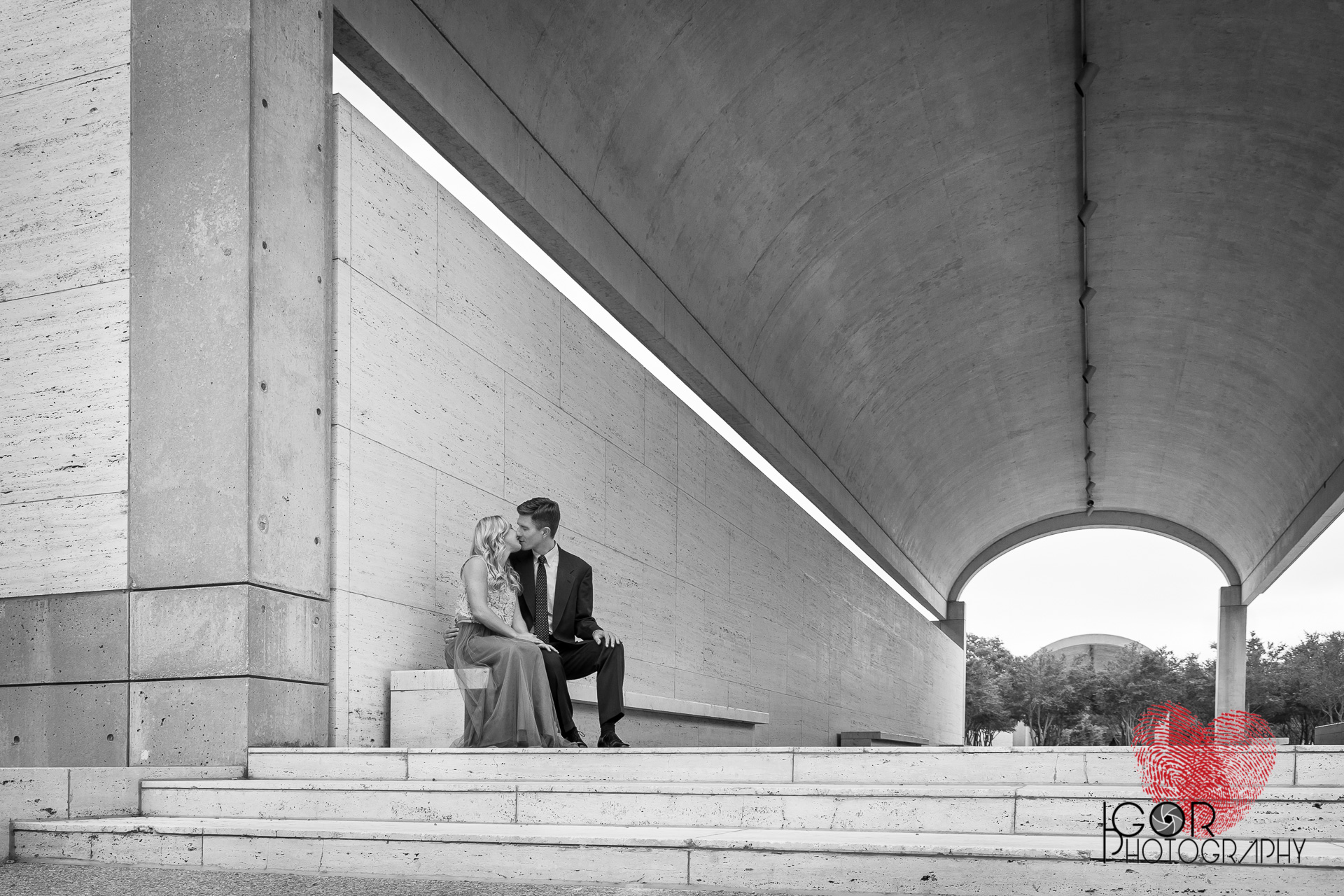Life imitating Art Engagement Session