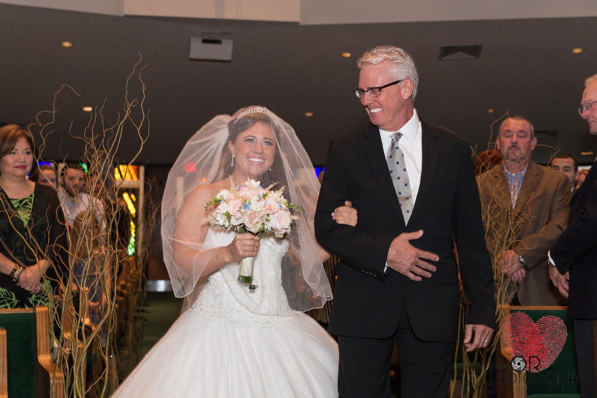 The giddiest bride ever!