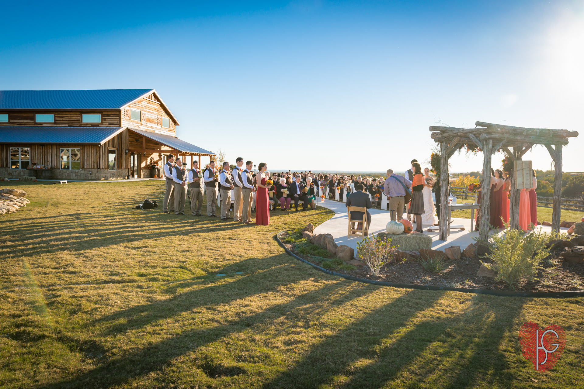Beautiful Weatherford wedding venue