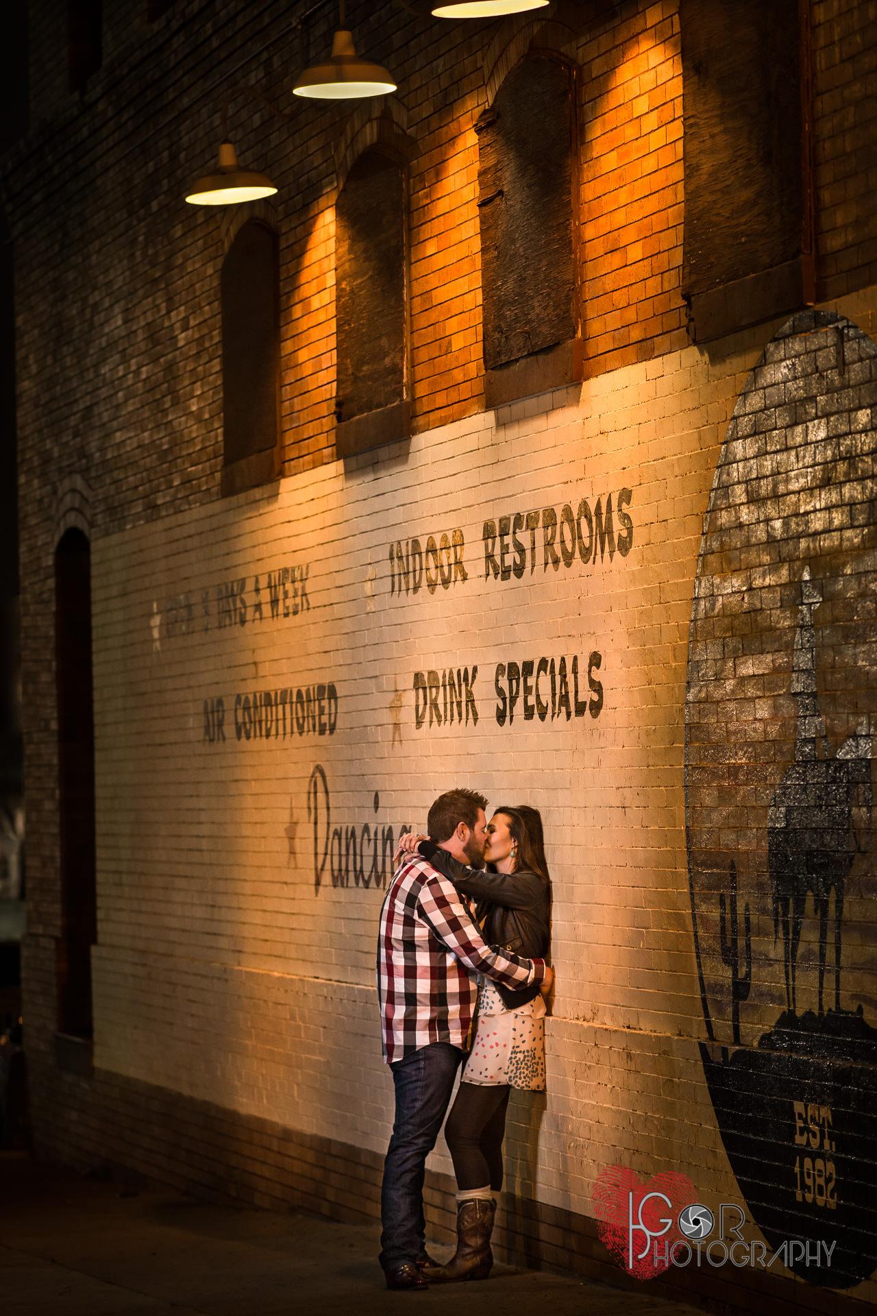 Stockyards Engagement Photography