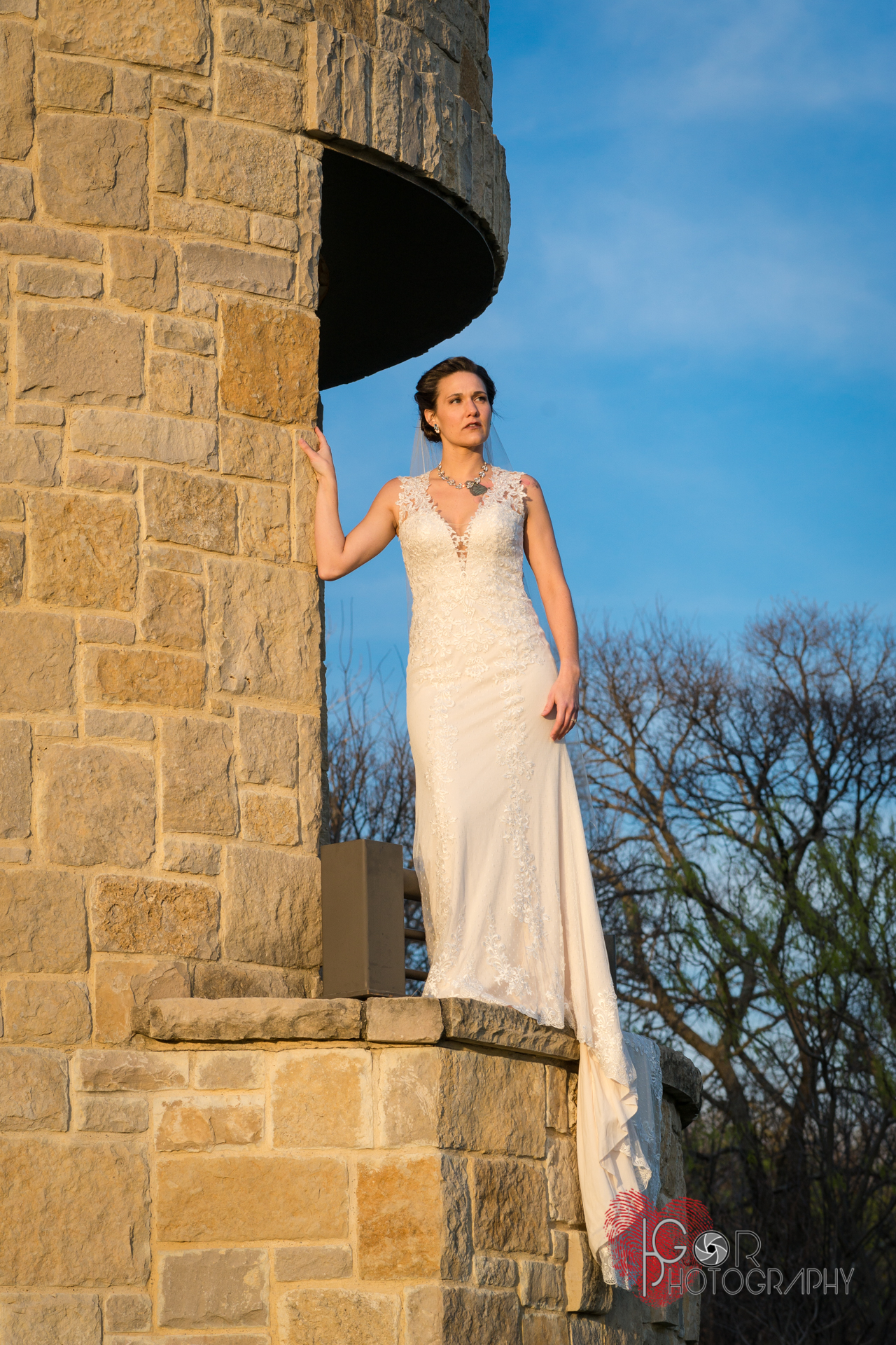 Plano bridal session