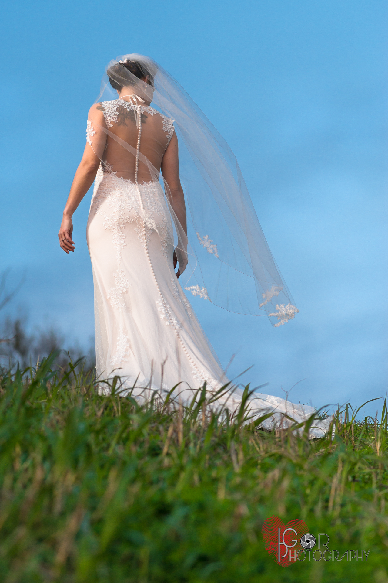 Bride in Natural light