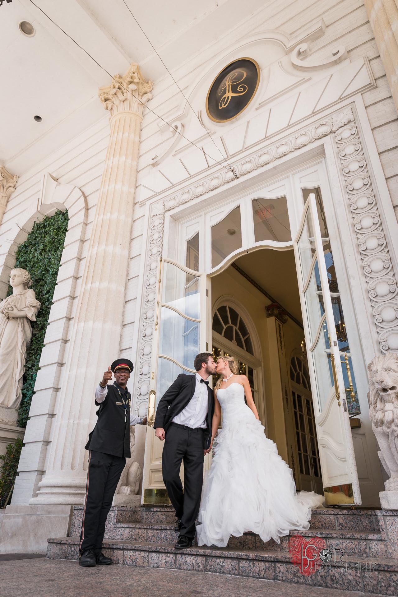 Le Pavillion Hotel Wedding