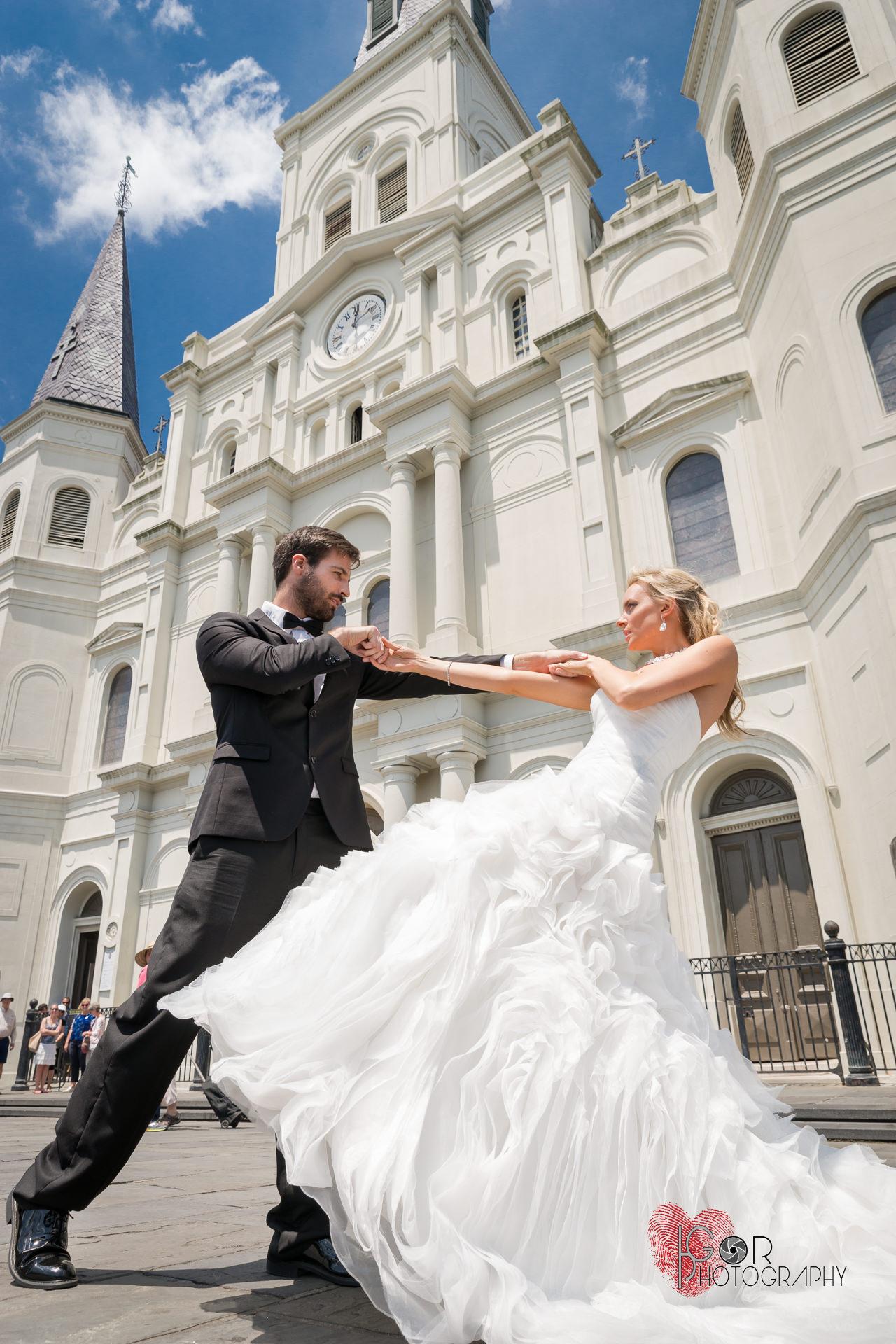 Jackson Square wedding