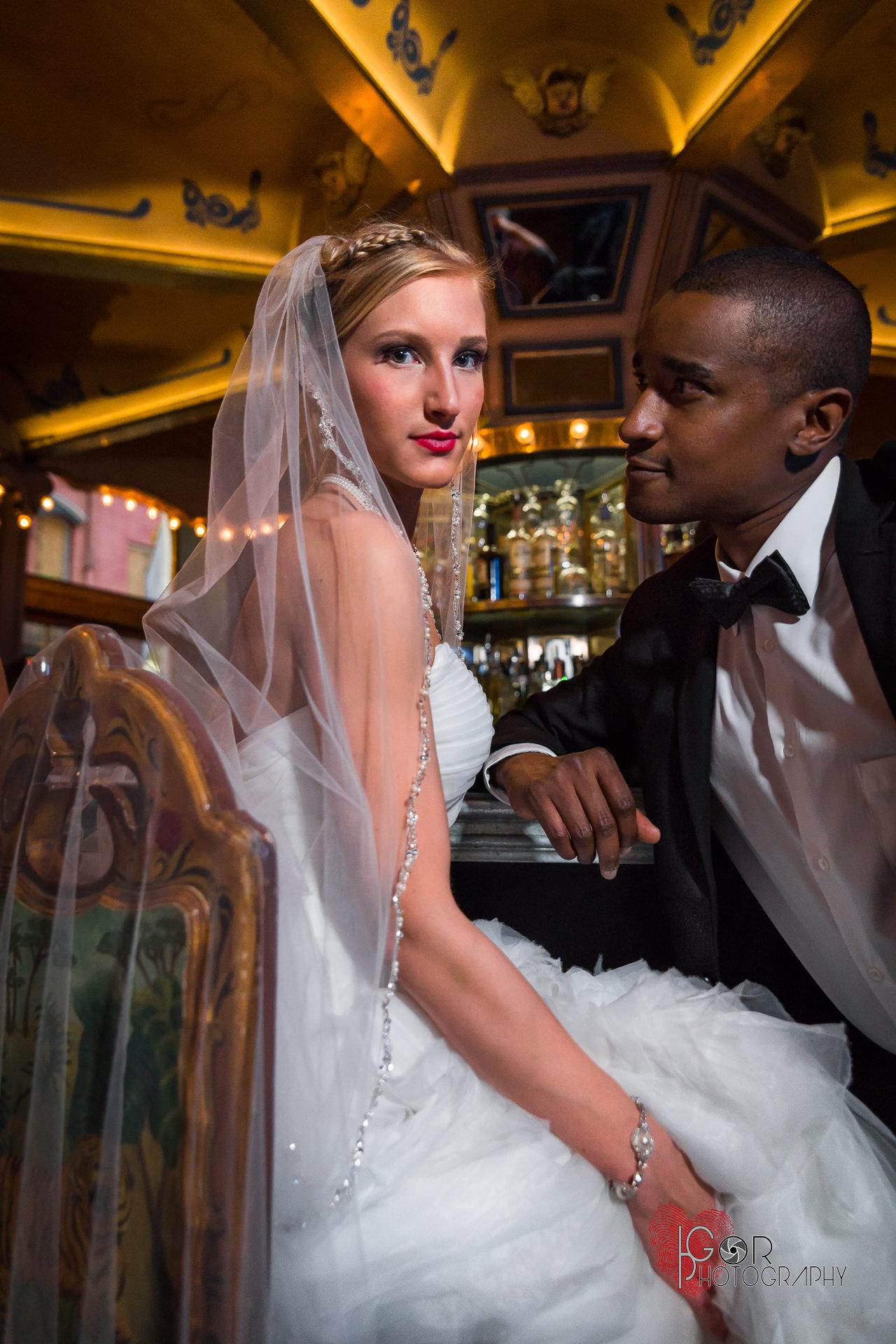 Carousel Piano & Bar wedding