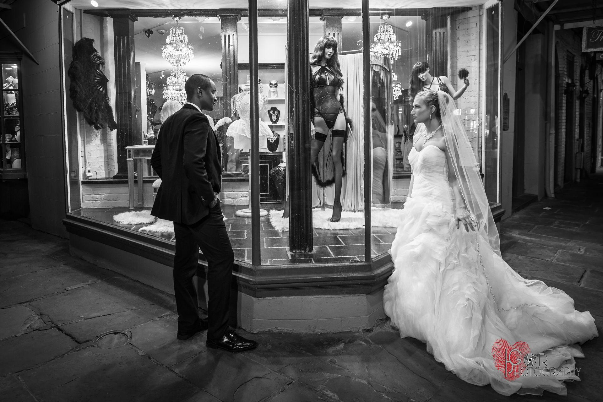 Wedding night in Nola