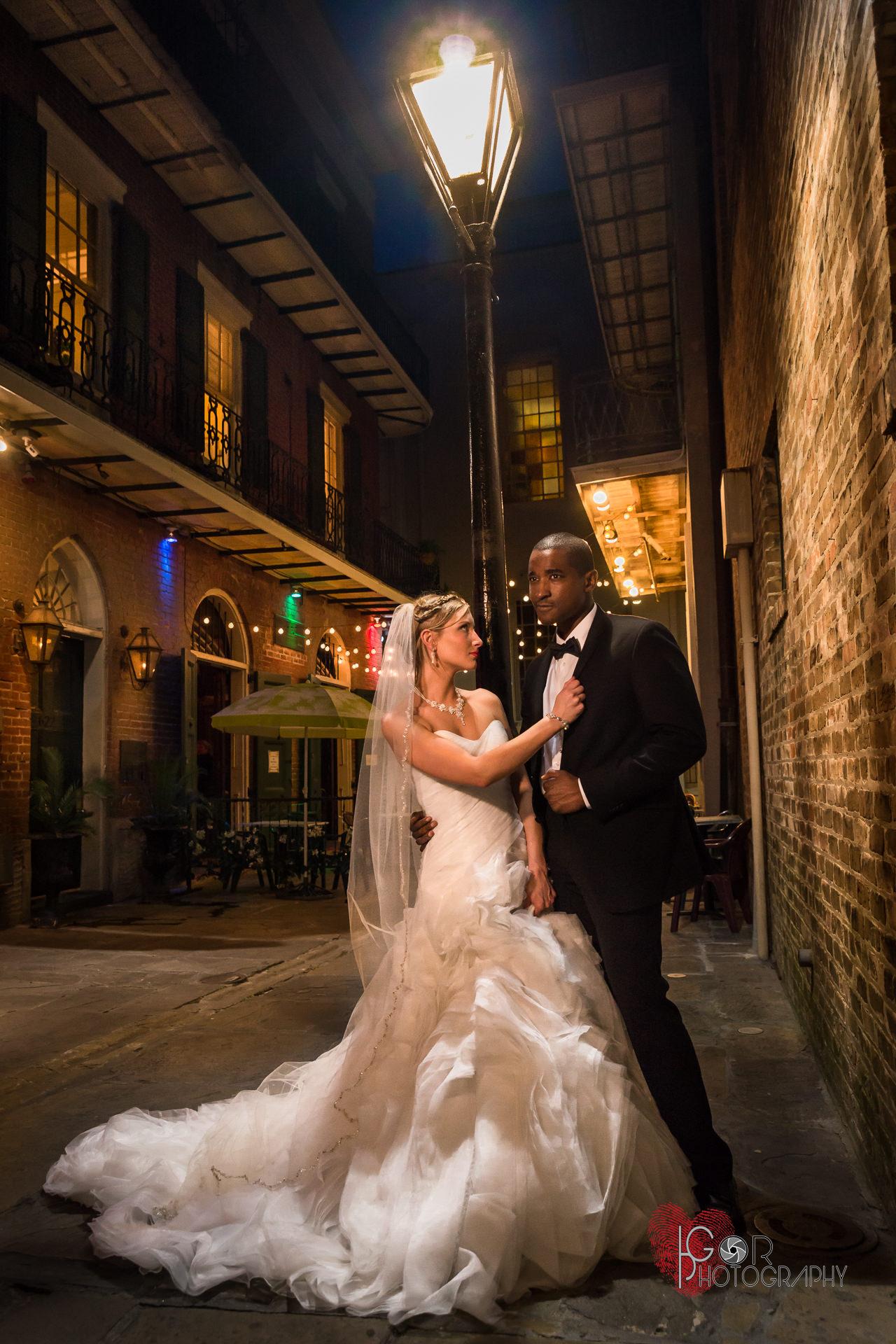 Romantic Wedding photography in Nola