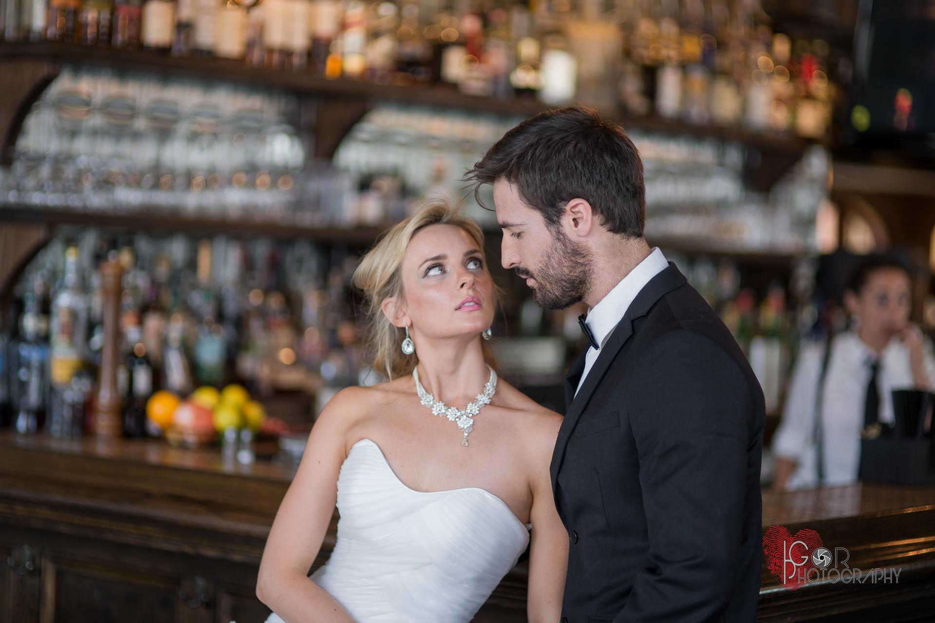 New Orleans bar wedding