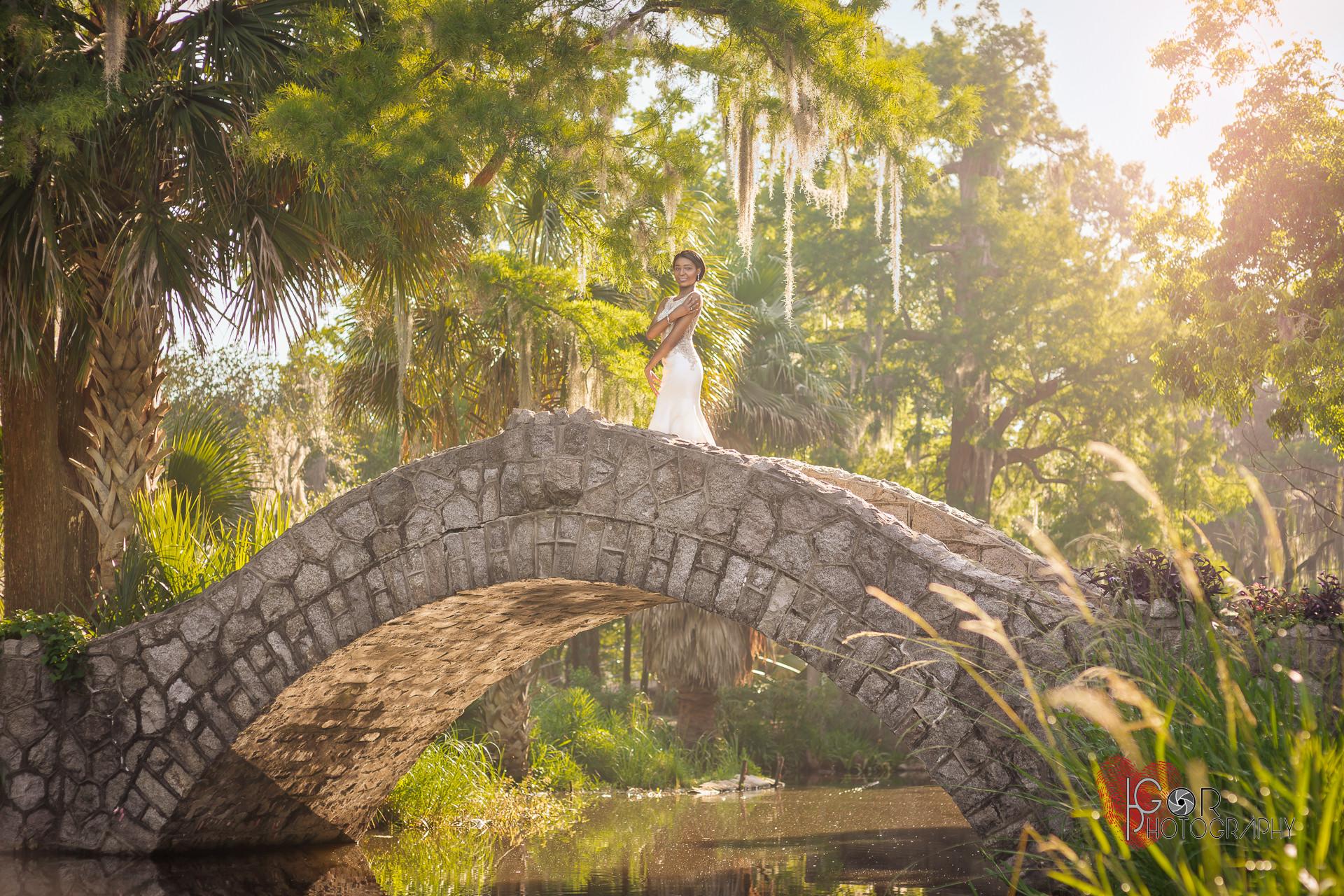 City Park bridal session