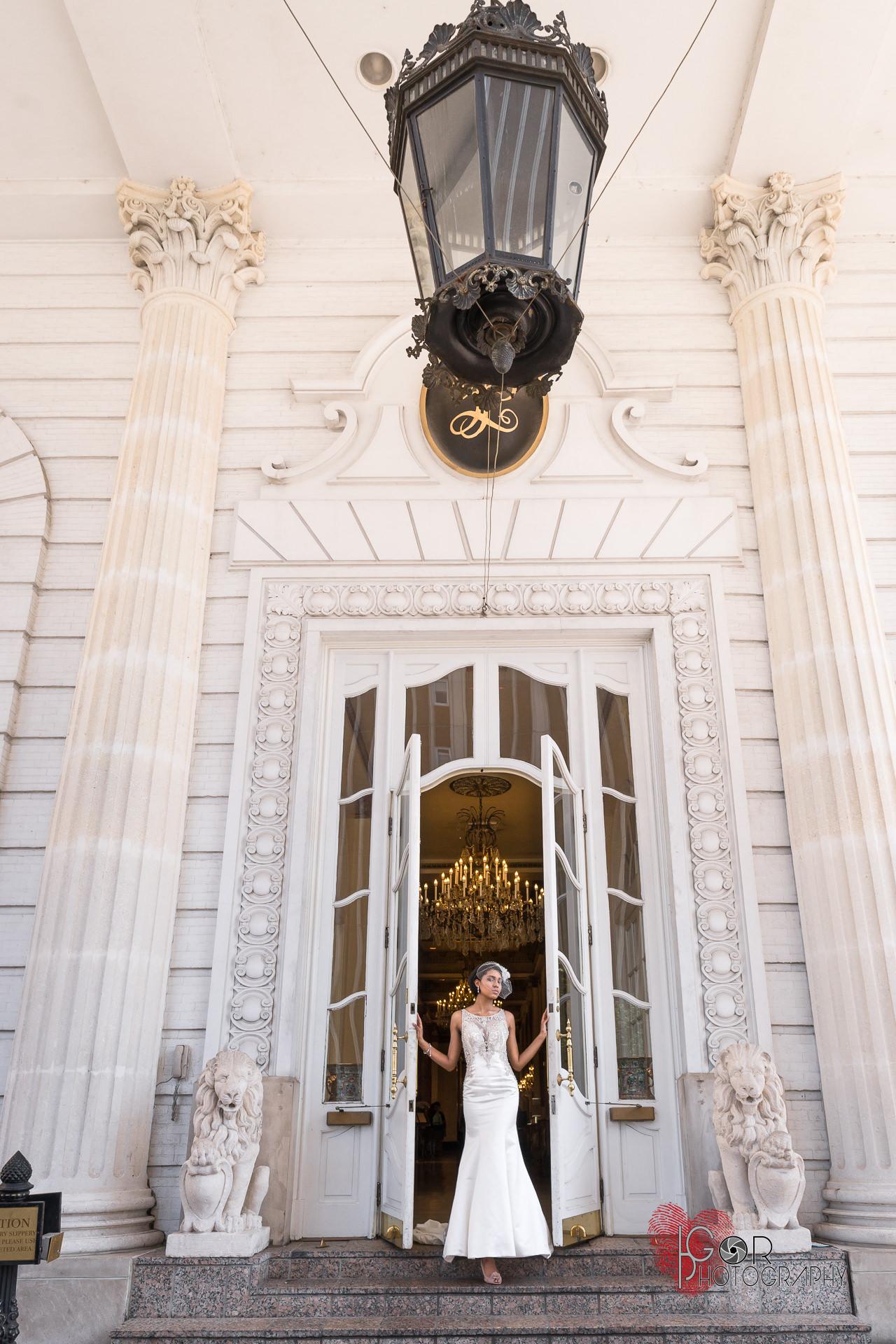 Le Pavillion hotel wedding venue