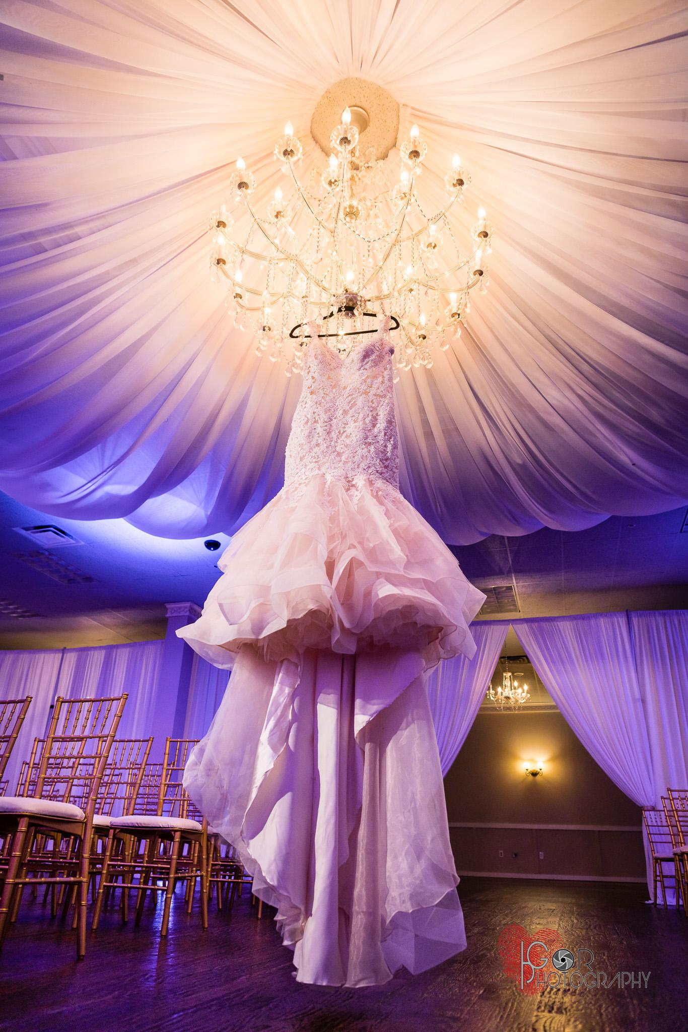 Irving Banquet Hall wedding dress