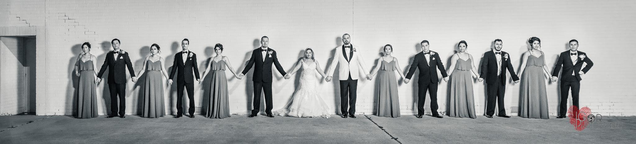 Modern wedding photography in Dallas