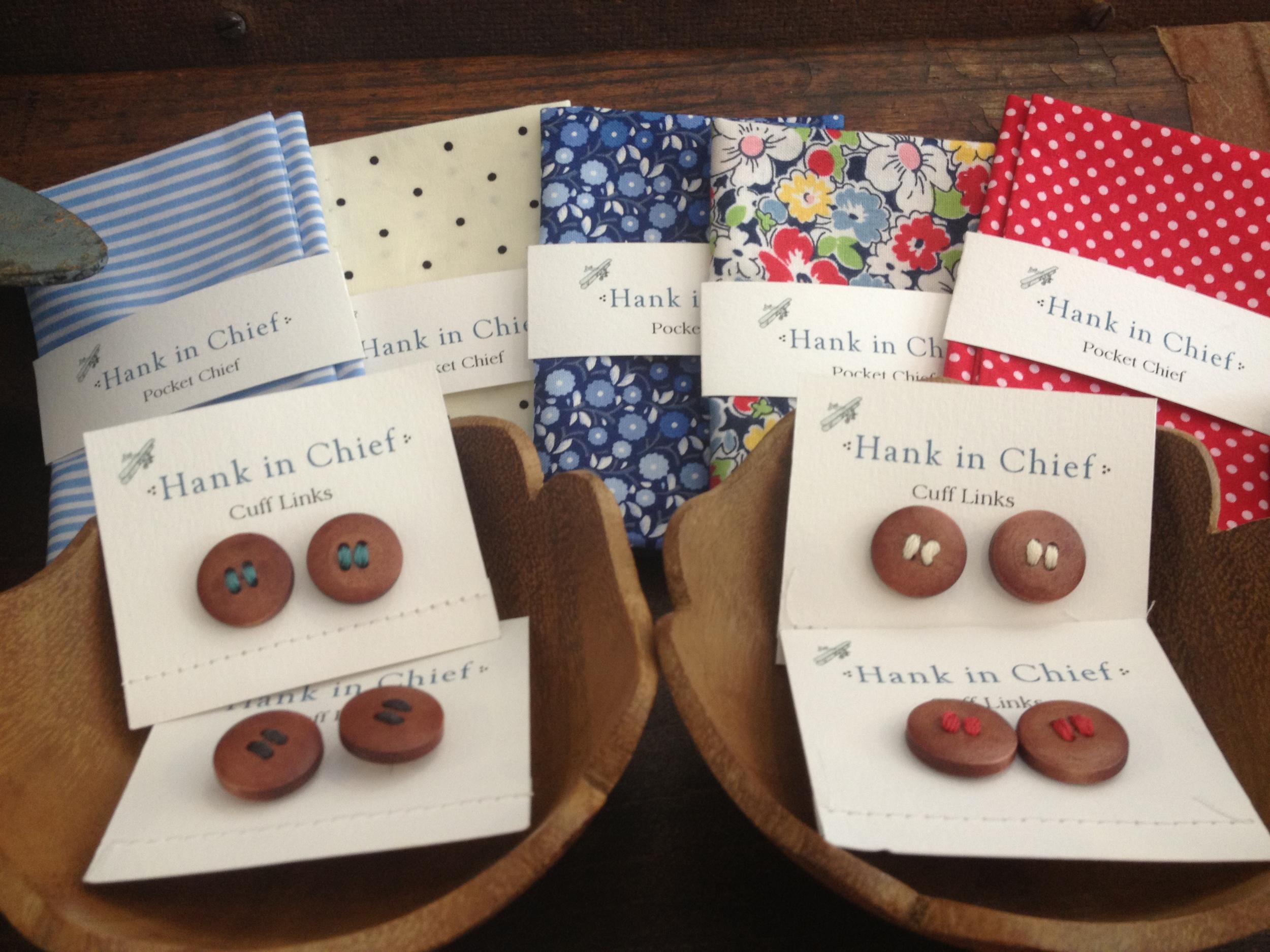 Pocket Chiefs and Cufflinks