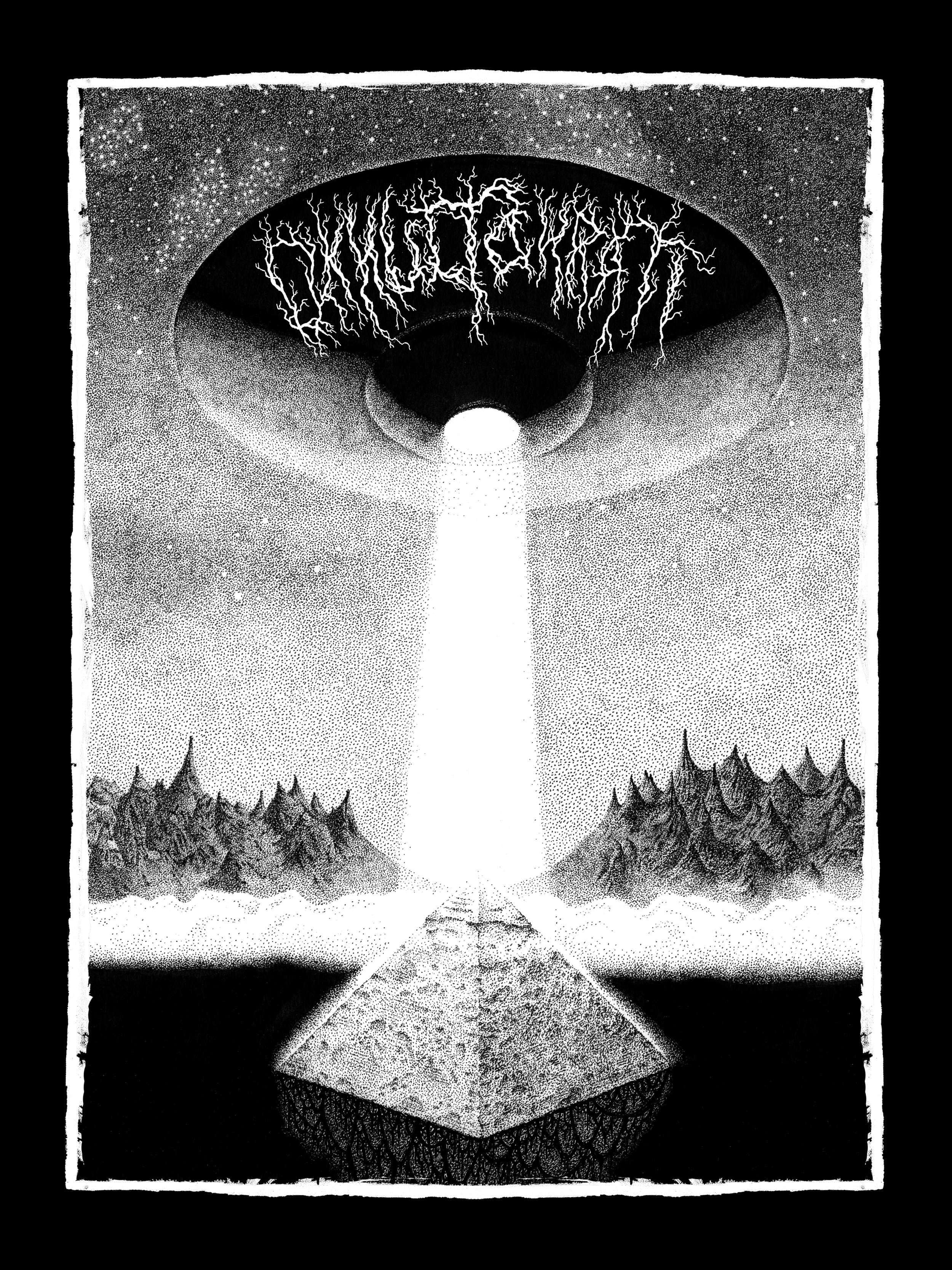 Okkultokrati T-shirt/No Light For Mass CD (2010)