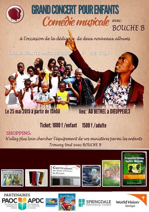 Concert Dakar with Bouche Bée