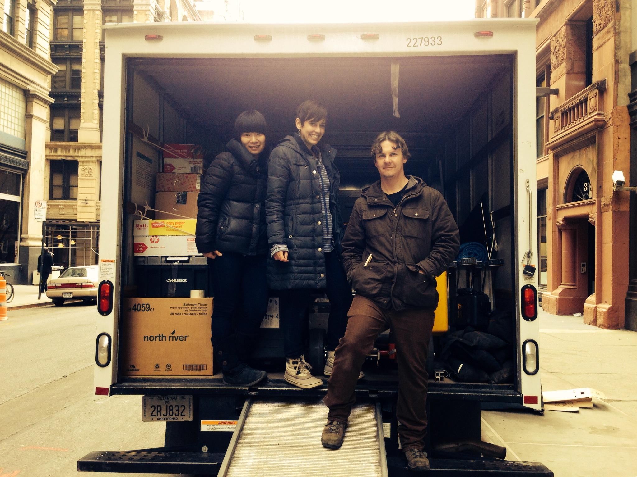 Production Designer: Hui Chen; Me; Cinematographer: Toby Petch