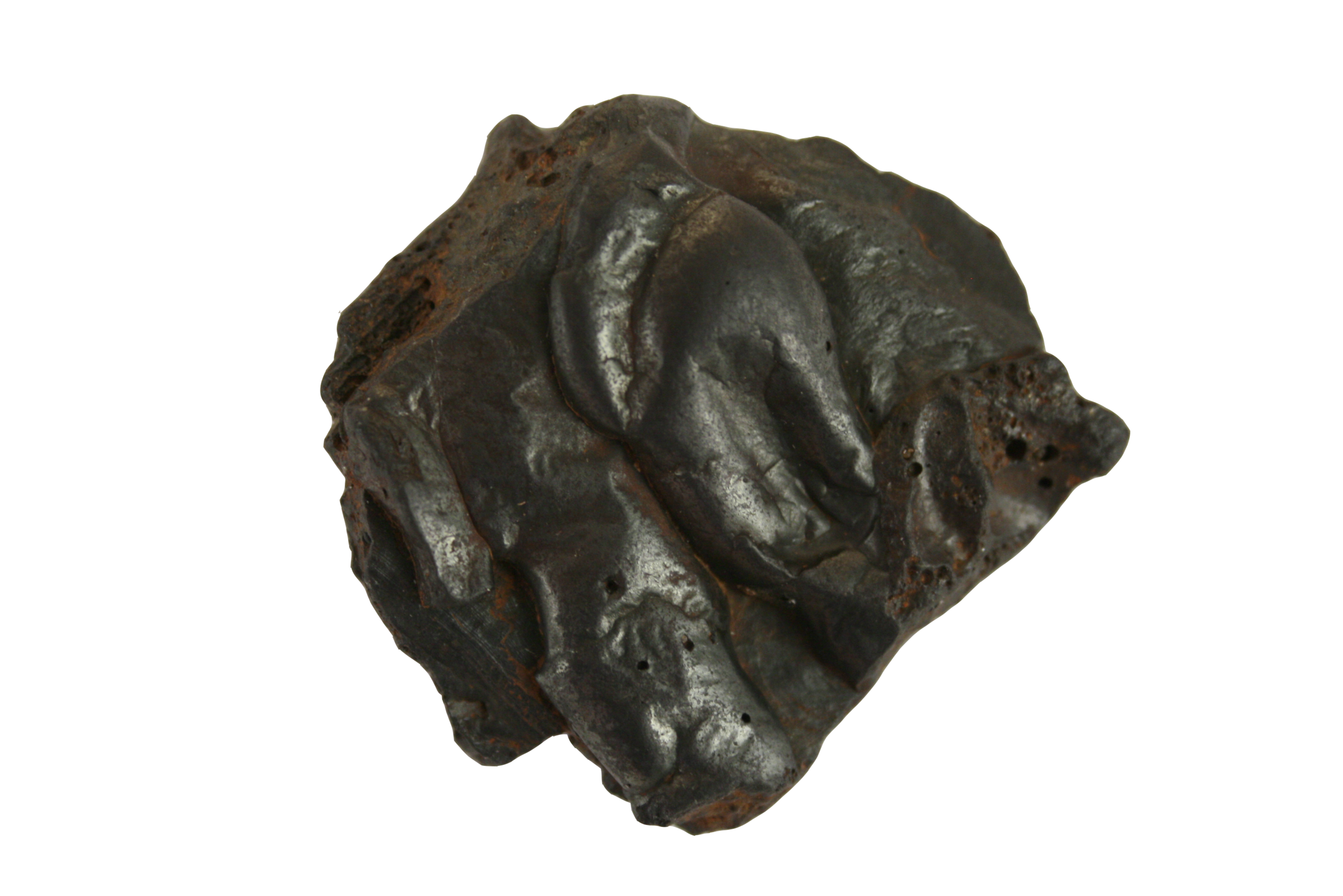 specimen #3 Tap Hole Slag: by-product of the iron & steel industry