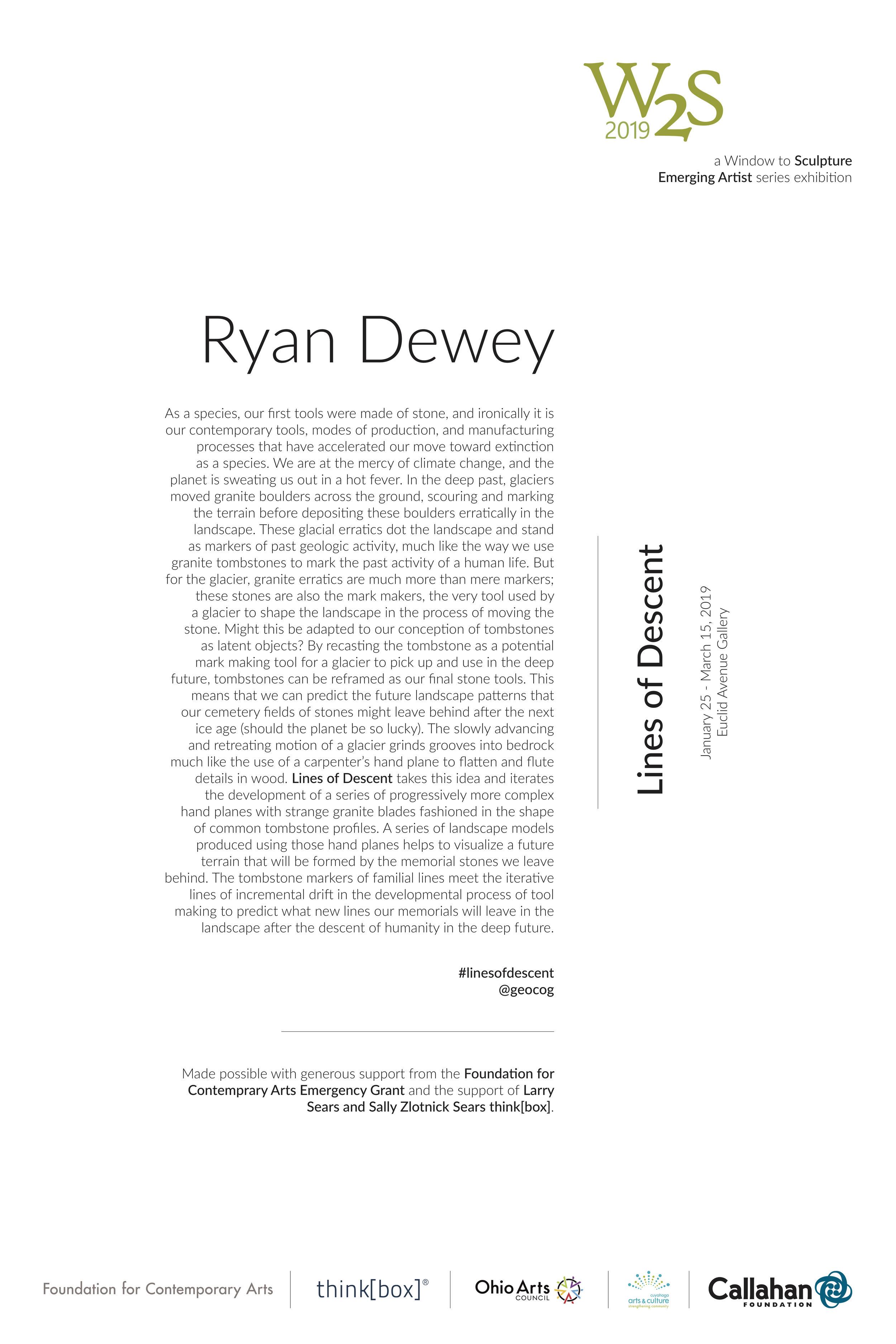 Ryan Dewey - Lines of Descent - Wall Text - The Sculpture Center.jpg