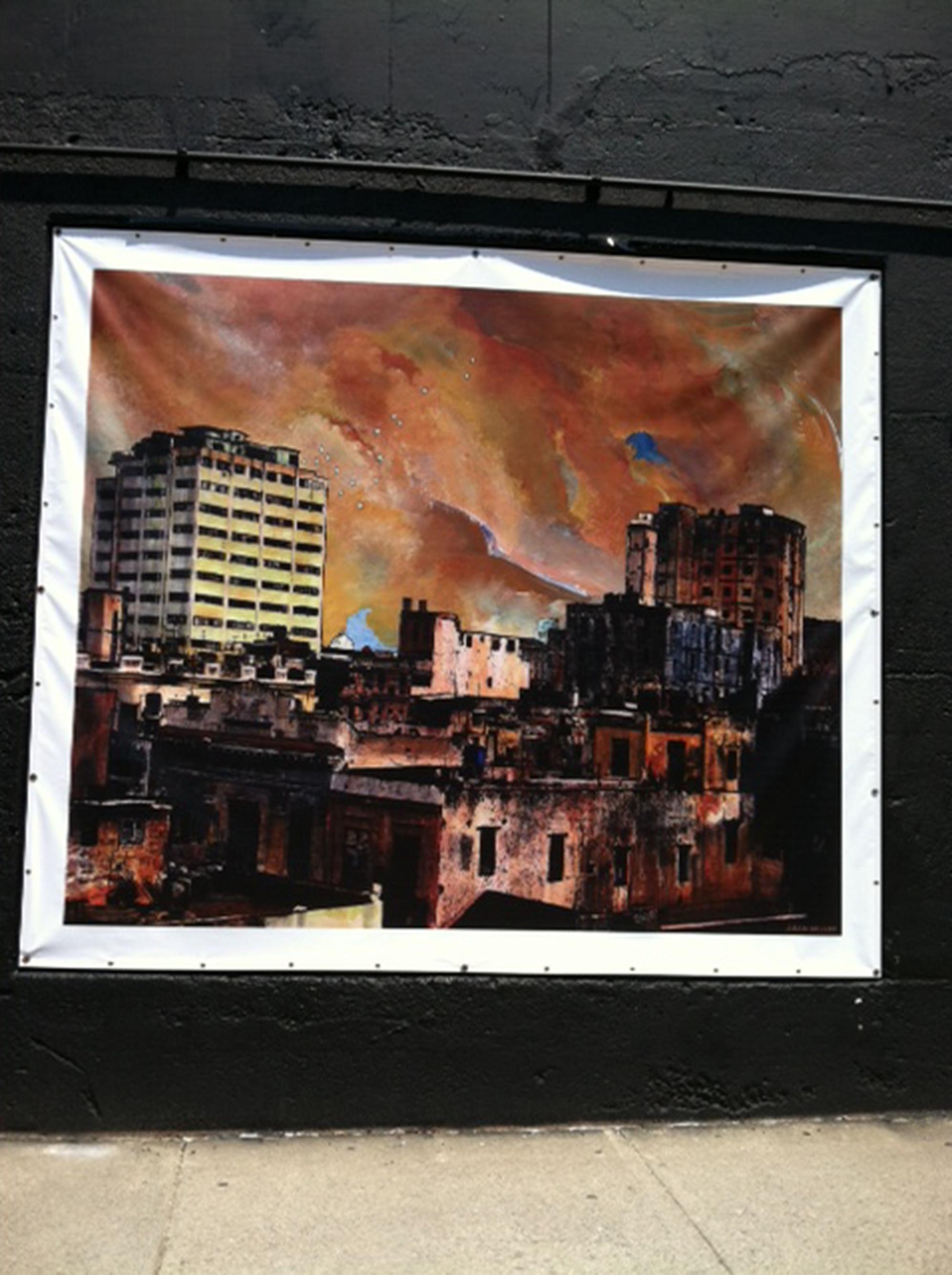 Public Art 3.0, Central Square downtown Lynn. Artist: Adam Miller