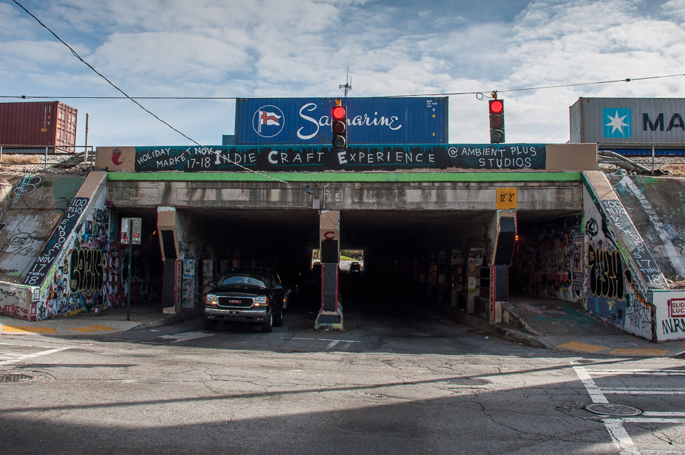The Krog Street tunnel in Atlanta.