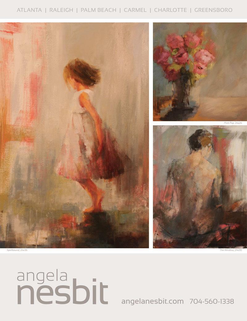 Veranda Magazine, May 2014 -  Angela Nesbit