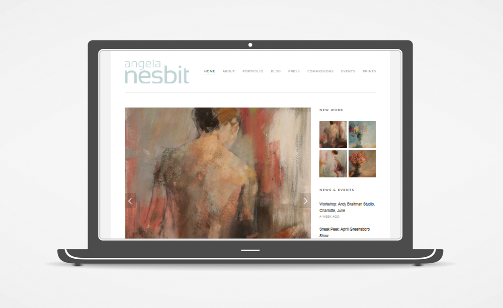 Angela Nesbit - New Website:  www.angelanesbit.com