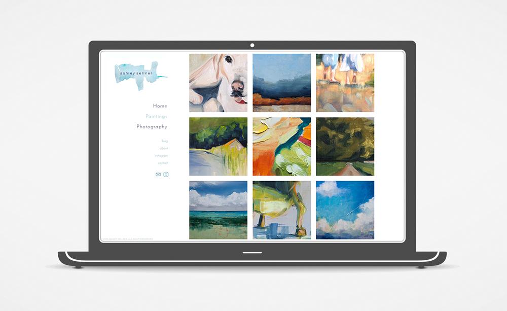 Website: Ashley Sellner: Paintings
