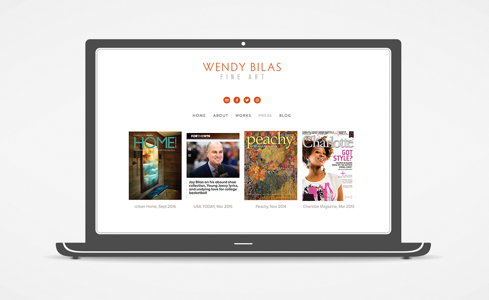 Wendy Bilas Website: Press