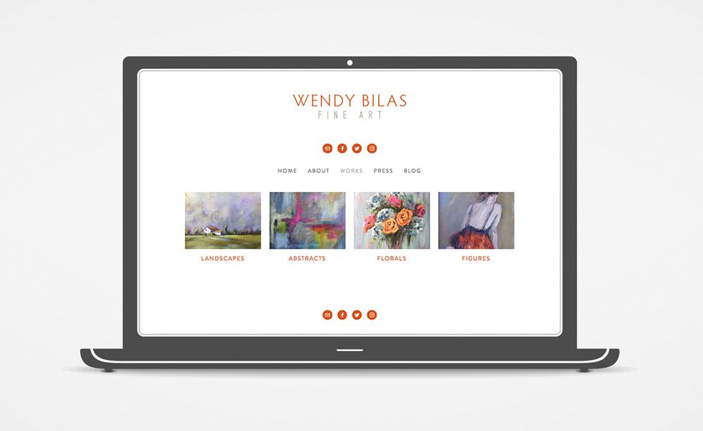 Wendy Bilas Website: Work