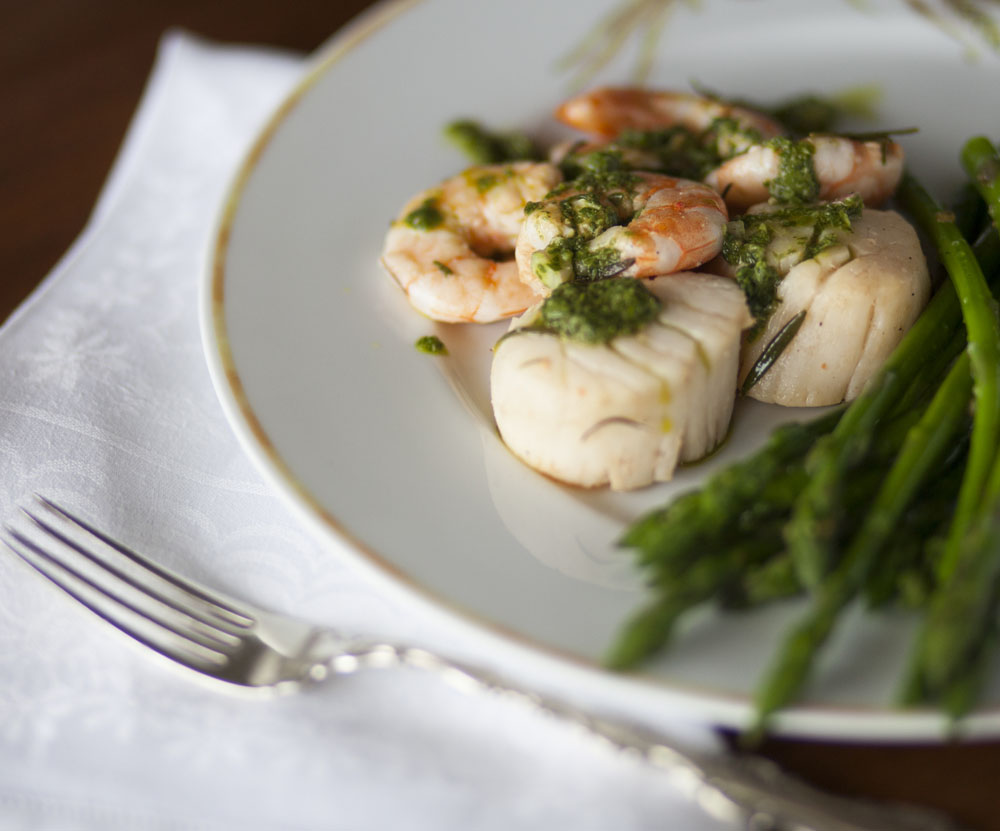 Effortless Entertaining: Scallops and Shrimp