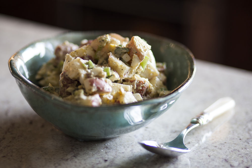 Effortless Entertaining: New Potato Salad