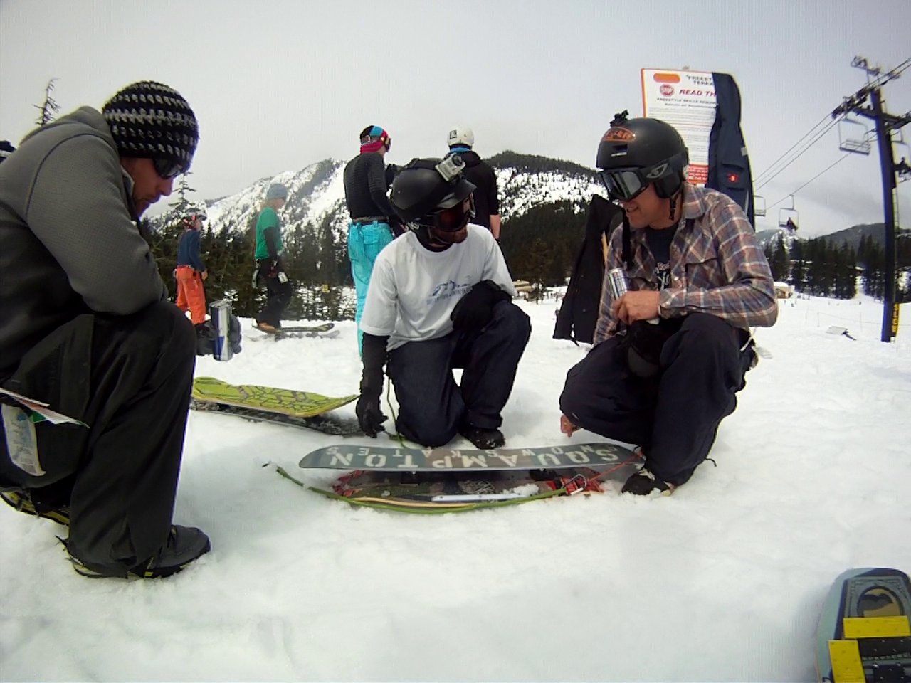Shop talk with Jesse from Squampton Snowskates and Bryce from Boyd Hill