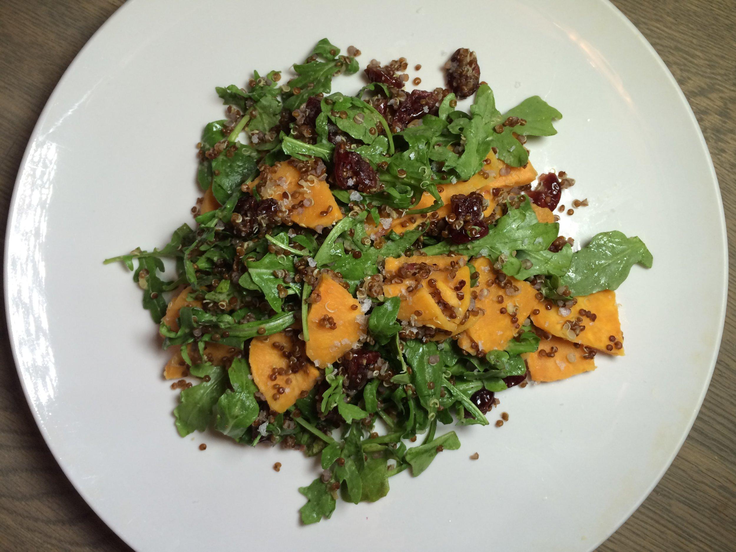 Seasonal Fall Salad