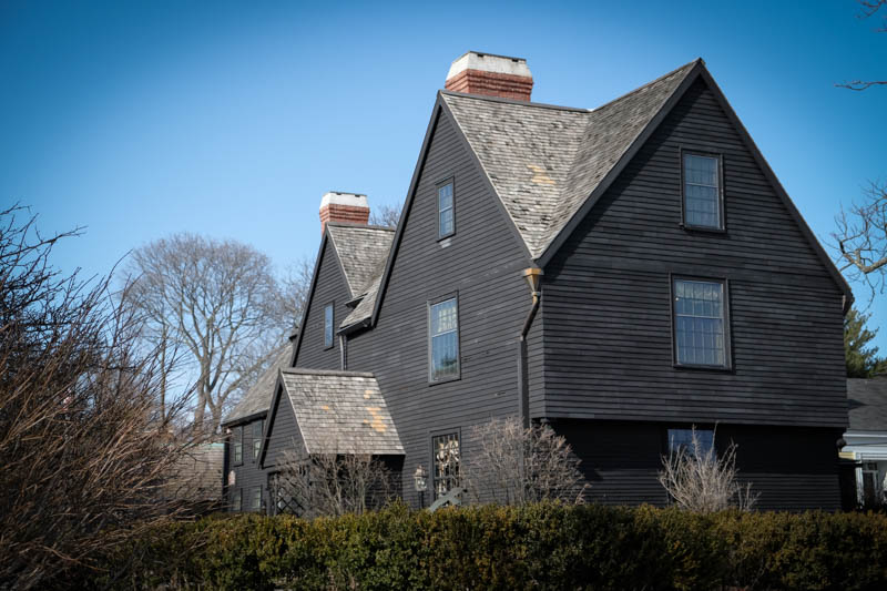 Heading back to town, oh my, do you think they could be in the House of Seven Gables...